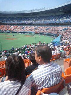 野球観戦♪