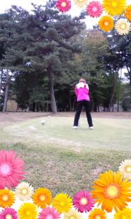 ゴルフだす♪